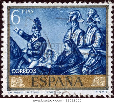 Christina Marie, Queen Mother Of Spain