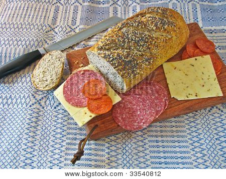 Bread And Sandwich