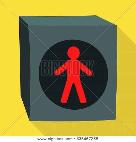 Vector Design Of Stoplight And Light Symbol. Web Element Of Stoplight And Signal Stock Symbol For We