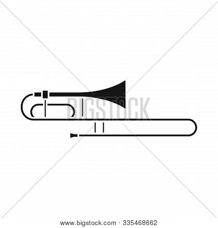 Vector Illustration Of Cornet And Pipe Icon. Graphic Of Cornet And Tuba Vector Icon For Stock.