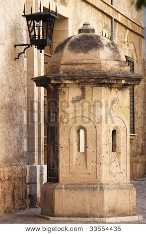Sentry box in Palma de Mallorca