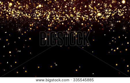 Abstract, Background, Black, Bright, Celebration, Christmas, Confetti, Decoration, Design, Festive,