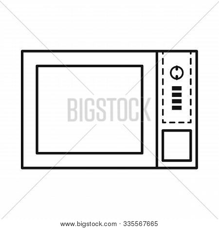 Vector Illustration Of Oven And Convection Symbol. Graphic Of Oven And Microwave Stock Vector Illust