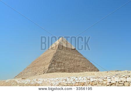 Pyramid Of Pharaoh Chephren