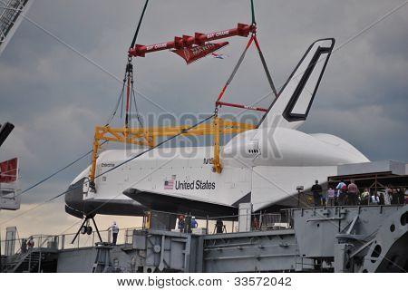 spaces shuttle, enterprise