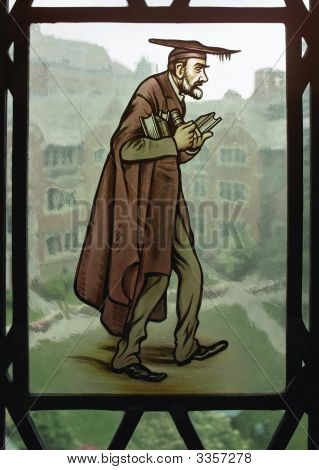 Lawyer In Stained Glass