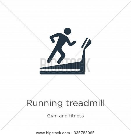 Running Treadmill Icon Vector. Trendy Flat Running Treadmill Icon From Gym And Fitness Collection Is