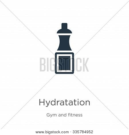 Hydratation Icon Vector. Trendy Flat Hydratation Icon From Gym And Fitness Collection Isolated On Wh