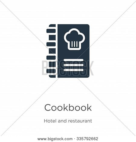 Cookbook Icon Vector. Trendy Flat Cookbook Icon From Hotel And Restaurant Collection Isolated On Whi