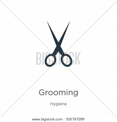 Grooming Icon Vector. Trendy Flat Grooming Icon From Hygiene Collection Isolated On White Background