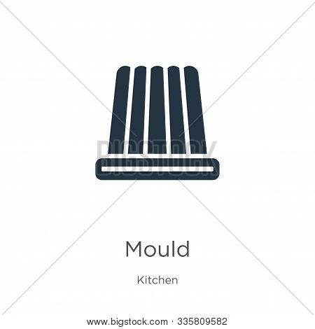 Mould Icon Vector. Trendy Flat Mould Icon From Kitchen Collection Isolated On White Background. Vect