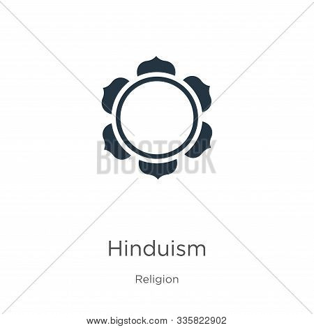 Hinduism Icon Vector. Trendy Flat Hinduism Icon From Religion Collection Isolated On White Backgroun