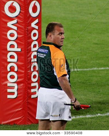 Cobus Wessels Referee South Africa 2012
