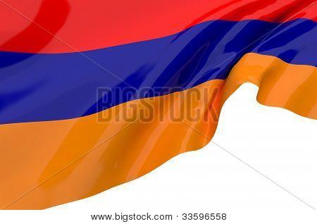 Illustration Flags Of Armenia