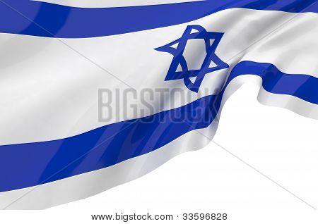 Illustration Flags Of Israel