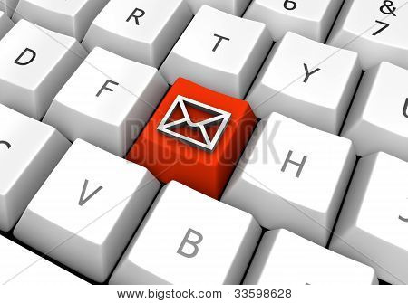 Business E-mail On A Pc