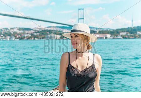 Travelling Concept. Concept Of Vacation In Turkey. New Places For Trip. Ideas For Journey. Modern La