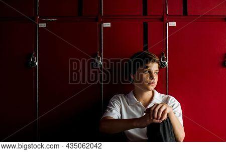Teenage boy victim of bullying