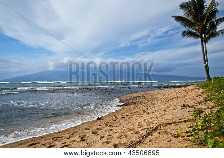 View of Molokai from Maui