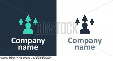 Logotype Web Design And Front End Development Icon Isolated On White Background. Logo Design Templat