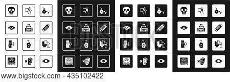 Set Wheelchair, Medical Hospital Building, Reddish Eye, Skull, Protective Mask, Joint Pain, Knee Pai
