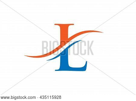 L Logo Design Vector Template. Initial Letter L Logotype For Business And Company Identity