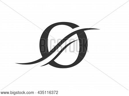 O Logo Design Vector Template. Initial Letter O Logotype For Business And Company Identity