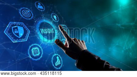 Internet, Business, Technology And Network Concept. Insight Inscription, Successful Business Concept