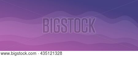 Abstract Waves Fluid Shape Levels Background Bright Colors Gradient. Trendy Template For Brochure Bu