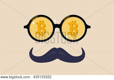 Bitcoin Whale Or Anonymous Who Rich With Bitcoin Crypto Trading, Cryptocurrency Guru Or Success Inve