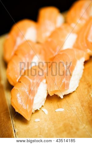 Smoked Salmon And Rice