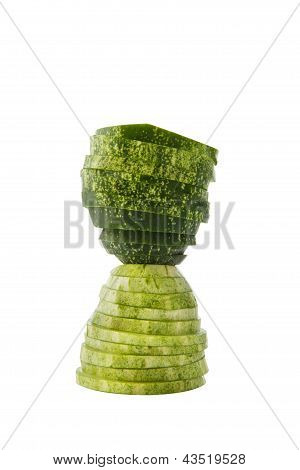 Hour glass cucumber