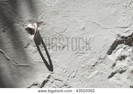 Whitewashed Wall
