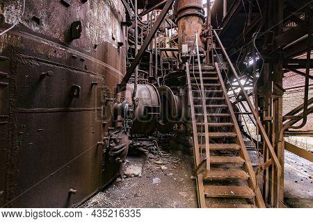 Blast Furnace Equipment Of The Metallurgical Plant