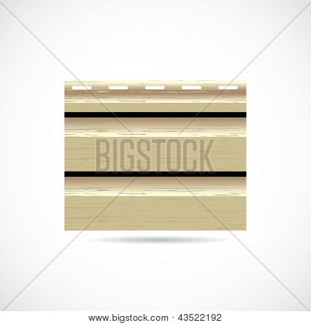 Siding Texture Sample Small Icon Wood Color