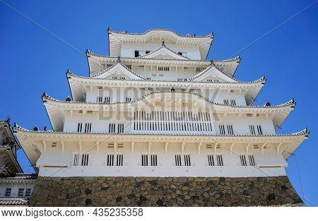 Architecture Of Himeji Castle, Japan