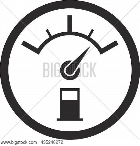 Fuel Tank Dial. A Sign Of A High Oil Level.