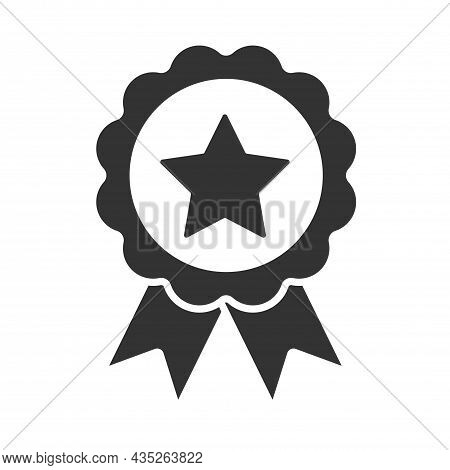 Icon Icon In Trendy Flat Style Isolated On Gray Background. Prize And Awards Symbol For Your Website