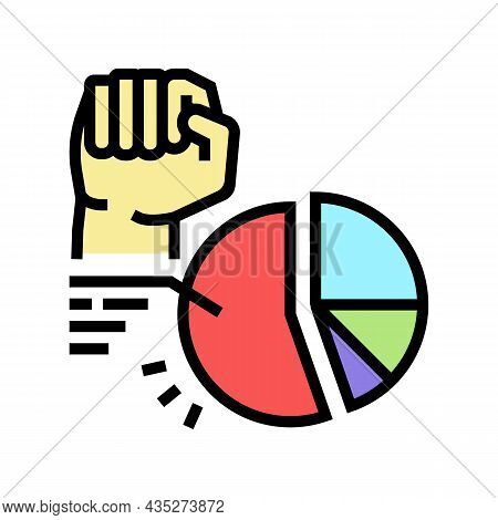 Majority Rule Color Icon Vector. Majority Rule Sign. Isolated Symbol Illustration