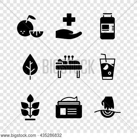 Set Citrus Fruit, Cross Hospital Medical, Collagen Serum, Plant, Ointment Cream Tube, Massage, Leaf