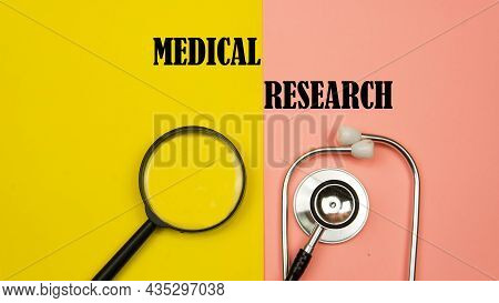 Medical Research  Health Concept