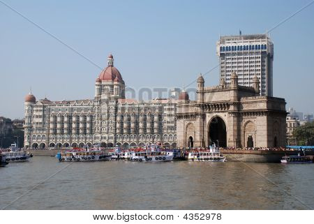 "The ""Gateway of India"" monument in Mumbai (India) poster"