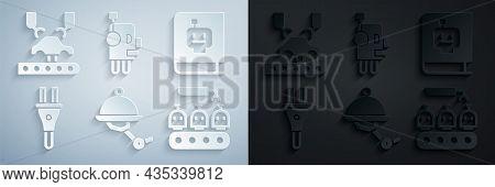 Set Waiter Robot, User Manual, Electric Plug, Industrial Production Of Robots, Robot And Robotic Arm