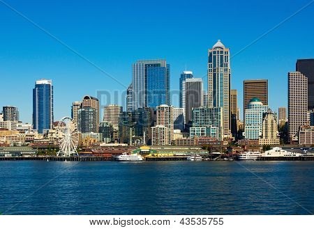 Seattle Skyline, Washington State