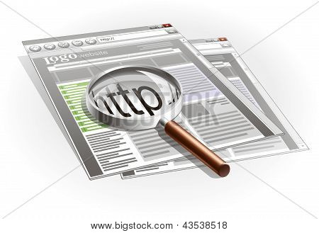 search on the site