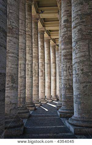 Pillars In The Vatican