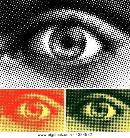 Halftone Eye