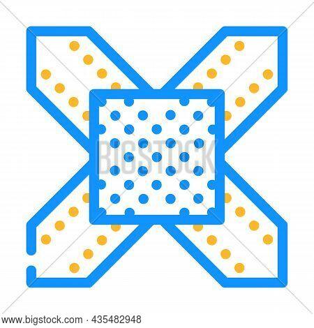Metal Structure Building Part Color Icon Vector. Metal Structure Building Part Sign. Isolated Symbol