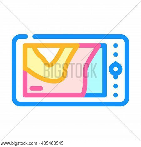 Thermal Imager Device Color Icon Vector. Thermal Imager Device Sign. Isolated Symbol Illustration