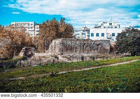 The Roman Forum or Agora (Courthouse square) in Thessaloniki, Greece